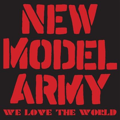New Model Army - We Love The World (CD + DVD)