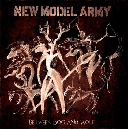 New Model Army - Between Dog & Wolf - Jewelcase