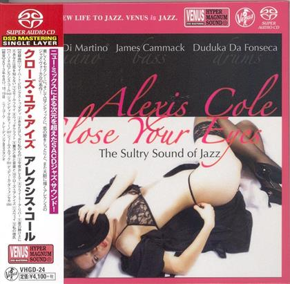 Alexis Cole - Close Your Eyes (Digipack, SACD)