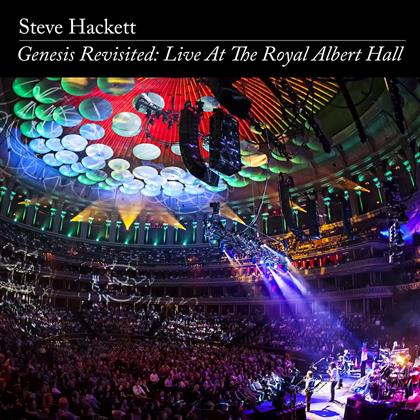 Steve Hackett - Genesis Revisited: Live At The Royal Albert Hall - US Version ohne FSK Kleber (2 CDs + DVD)