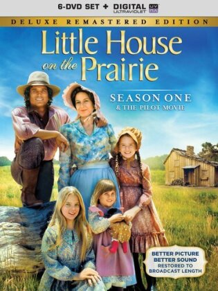 Little House on the Prairie - Season 1 (Deluxe Edition, Remastered, 6 DVDs)
