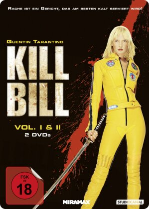 Kill Bill - Vol. 1 & 2 (Steelbook, 2 DVDs)