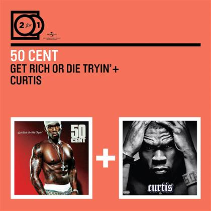 50 Cent - 2 For 1: Get Rich Or Die Tryin' / Curtis (2 CDs)