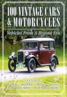 100 vintage cars & motorcycles - Vehicles from a bygone era