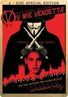 V wie Vendetta (2005) (Steelbook, 2 DVDs)