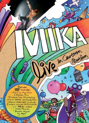 Mika - Live in Cartoon Motion (Deluxe Edition)