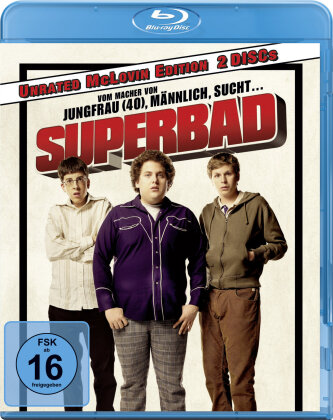 Superbad (2007) (Unrated McLovin Edition, 2 Blu-rays)