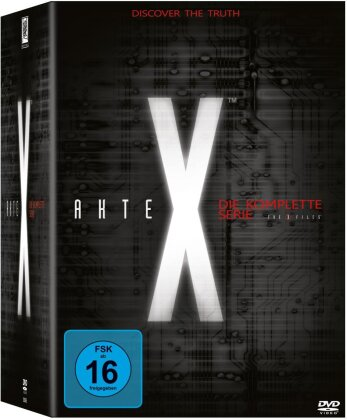 Akte X - Staffeln 1-9 (Box, Limited Edition, 61 DVDs)