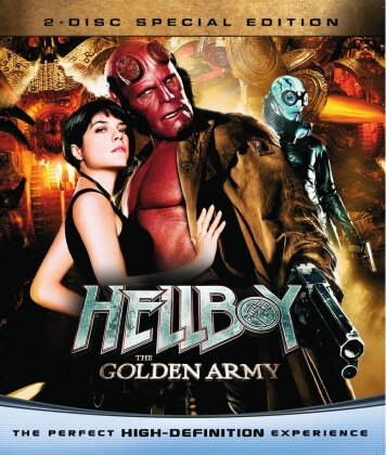 Hellboy 2 - The golden army (2008) (Special Edition, 2 Blu-rays)