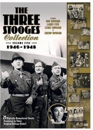 The Three Stooges Collection - Vol. 5: 1946-1948 (Remastered, 2 DVDs)