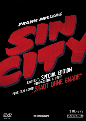 Sin City - (Kinofassung & Recut inkl. Comic / Limitierte Special Edition / 2 Discs) (2005)