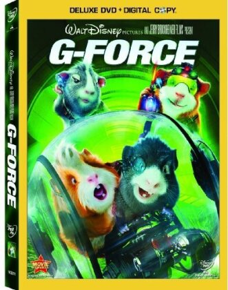 G-Force (2009) (Deluxe Edition, DVD + Digital Copy)