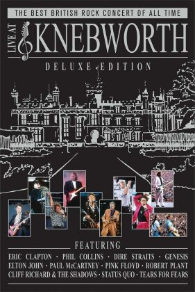 Various Artists - Live at Knebworth (Deluxe Edition, 2 DVDs + 2 CDs)