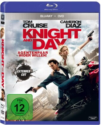 Knight & Day (2010) (Extended Edition, Blu-ray + DVD)