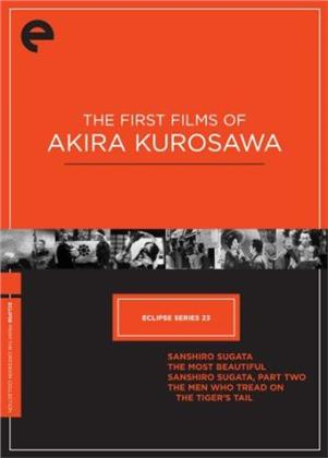The First Films of Akira Kurosawa - Eclipse Series 23 (Criterion Collection, 4 DVDs)