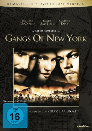 Gangs of New York (2002) (Deluxe Edition, Remastered, 2 DVDs)