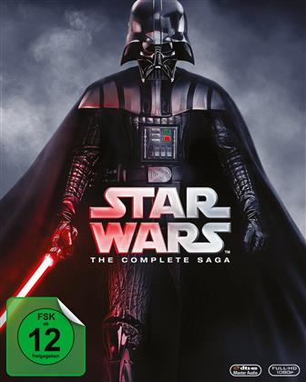 Star Wars - The Complete Saga - Episode 1-6 (9 Blu-rays)