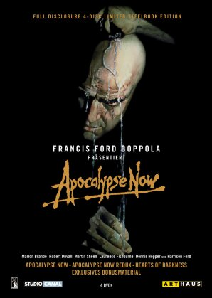 Apocalypse Now (1979) (Arthaus, Steelbook, 4 DVDs)