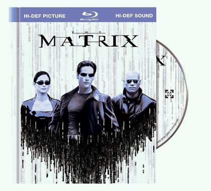The Matrix (1999) (Anniversary Edition, Blu-ray + Buch)