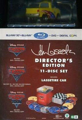 Cars 1-3 - Movie Collection (Director's Cut, 11 Blu-rays)