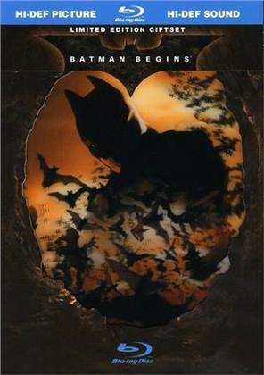 Batman Begins (2005) (Limited Edition, Blu-ray + Buch)