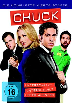 Chuck - Staffel 4 (5 DVDs)