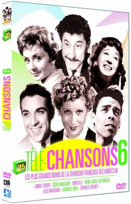 Various Artists - Télé-Chansons - Vol. 6 (s/w)