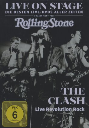 Clash - Live Revolution Rock - Live on Stage (Steelbook)