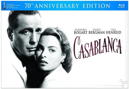 Casablanca (1942) (70th Anniversary Edition, s/w, 2 Blu-rays + DVD)