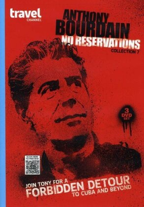 Anthony Bourdain - No Reservations - Collection 7 (3 DVDs)