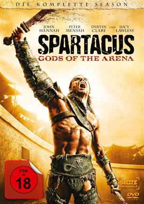 Spartacus: Gods of the Arena - Die komplette Season (2011) (Uncut, 3 DVDs)