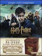 Harry Potter 1 - 7 - (Wizard's Collection 31 Discs, with DVDs)