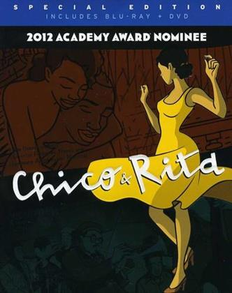 Chico & Rita (2010) (Collector's Edition, Blu-ray + DVD + CD)
