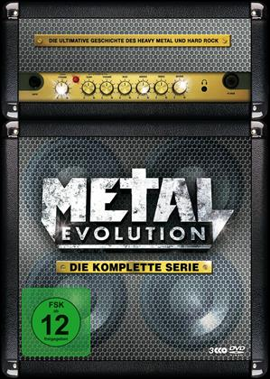 Various Artists - Metal Evolution - Die komplette Serie (Steelbook, 3 DVDs)