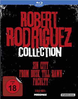 Robert Rodriguez Collection - Sin City / From dusk till dawn / Faculty (3 Blu-rays)