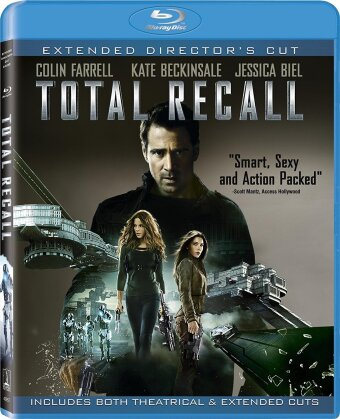Total Recall (2012) (Director's Cut, Extended Edition, 2 Blu-rays)