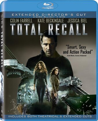 Total Recall (2012) (Director's Cut, Extended Edition, 2 Blu-rays + DVD)