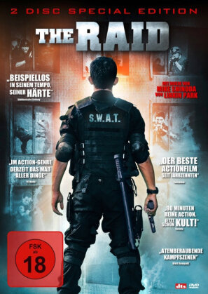 The Raid - Redemption (2011) (Collector's Edition, 2 DVDs)
