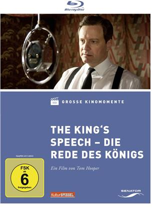 The King's Speech - Die Rede des Königs (2010) (Digibook, Grosse Kinomomente)