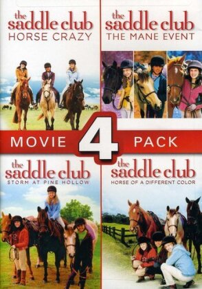 The Saddle Club - Movie 4 Pack