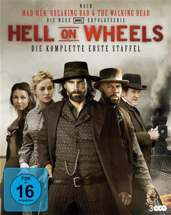 Hell on Wheels - Staffel 1 (3 Blu-rays)