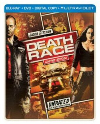 Death Race (2008) (Limited Edition, Steelbook, Blu-ray + DVD)