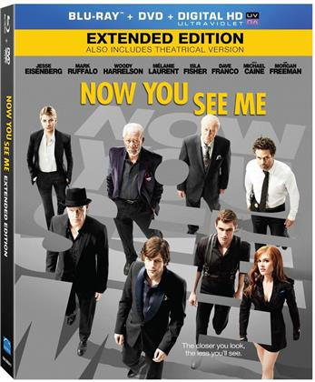 Now You See Me (2013) (Blu-ray + DVD)