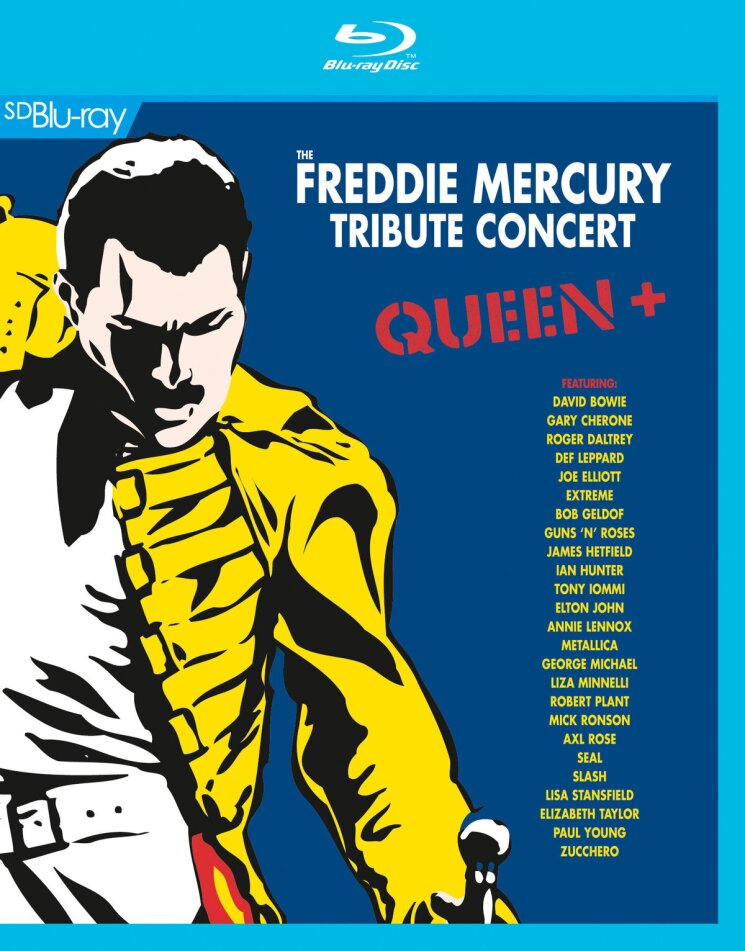 Various Artists - Freddie Mercury Tribute Concert (2 Blu-rays)