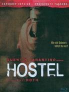 Hostel (2005) (Limited Edition, Steelbook, Uncut)