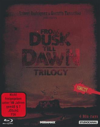 From Dusk Till Dawn - Trilogy (Limited Edition, Steelbook, Uncut, 4 Blu-rays)