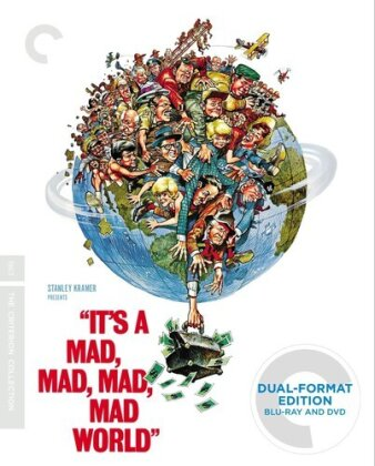 It's a Mad, Mad, Mad, Mad World (1963) (Criterion Collection, 2 Blu-rays + 3 DVDs)
