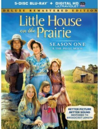 Little House on the Prairie - Season 1 (Deluxe Edition, Remastered, 5 Blu-rays)