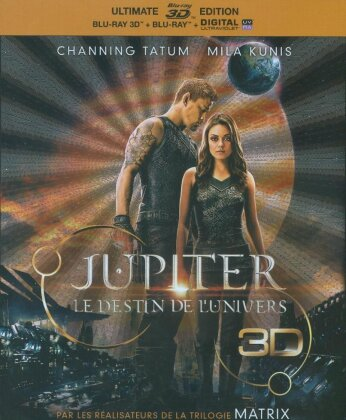 Jupiter - Le destin de l'Univers (2015) (Ultimate Edition, Blu-ray 3D + Blu-ray)