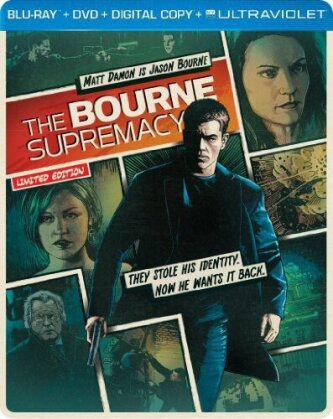 The Bourne Supremacy (2004) (Steelbook, Blu-ray + DVD)